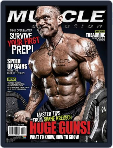 Muscle Evolution (Digital) May 1st, 2018 Issue Cover