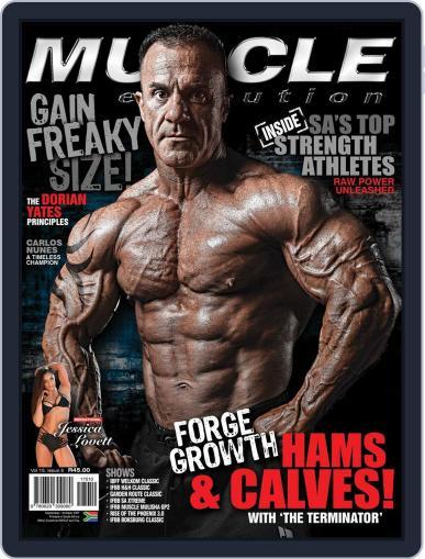 Muscle Evolution (Digital) September 1st, 2017 Issue Cover