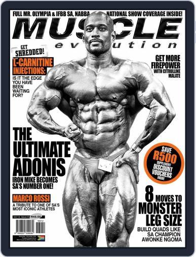Muscle Evolution (Digital) November 1st, 2016 Issue Cover