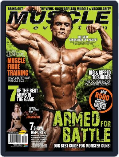 Muscle Evolution (Digital) September 1st, 2016 Issue Cover