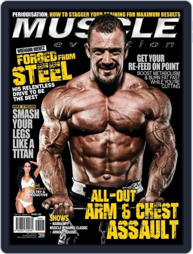 Muscle Evolution (Digital) April 25th, 2016 Issue Cover
