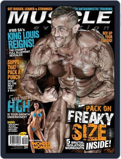 Muscle Evolution (Digital) October 21st, 2015 Issue Cover