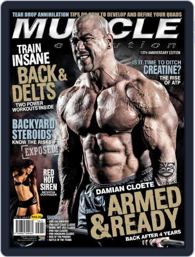 Muscle Evolution (Digital) August 31st, 2015 Issue Cover