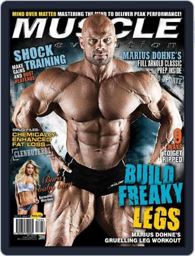 Muscle Evolution (Digital) April 23rd, 2015 Issue Cover