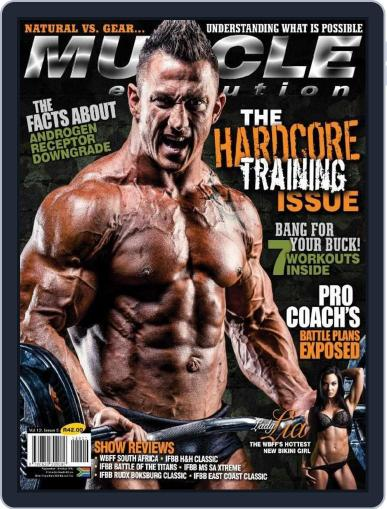 Muscle Evolution (Digital) August 24th, 2014 Issue Cover