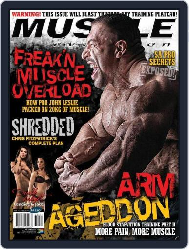 Muscle Evolution (Digital) July 1st, 2014 Issue Cover
