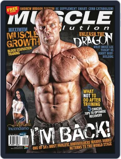 Muscle Evolution (Digital) April 30th, 2014 Issue Cover