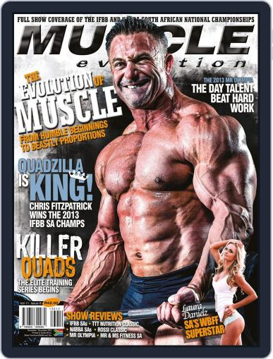 Muscle Evolution (Digital) October 27th, 2013 Issue Cover