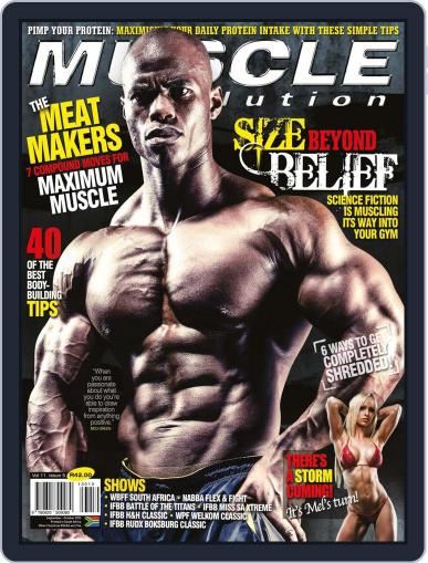 Muscle Evolution (Digital) August 25th, 2013 Issue Cover