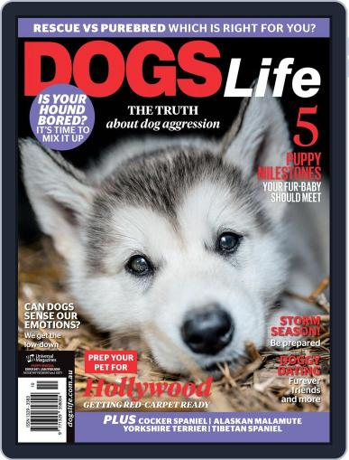 Dogs Life Magazine (Digital) January 1st, 2018 Issue Cover