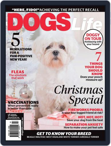 Dogs Life Magazine (Digital) November 1st, 2016 Issue Cover