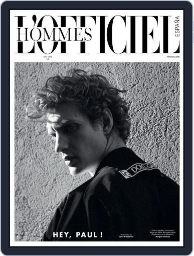 L'Officiel Hommes España (Digital) April 1st, 2018 Issue Cover