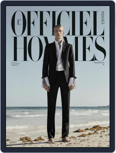 L'Officiel Hommes España (Digital) March 15th, 2017 Issue Cover