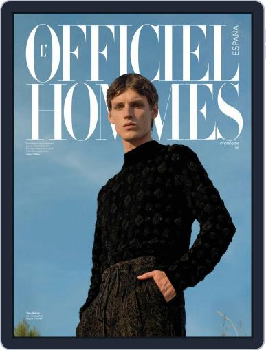 L'Officiel Hommes España (Digital) September 1st, 2016 Issue Cover
