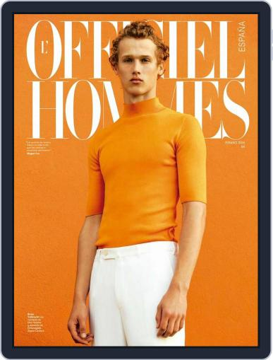 L'Officiel Hommes España (Digital) June 15th, 2016 Issue Cover