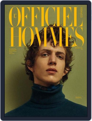 L'Officiel Hommes España (Digital) December 8th, 2015 Issue Cover