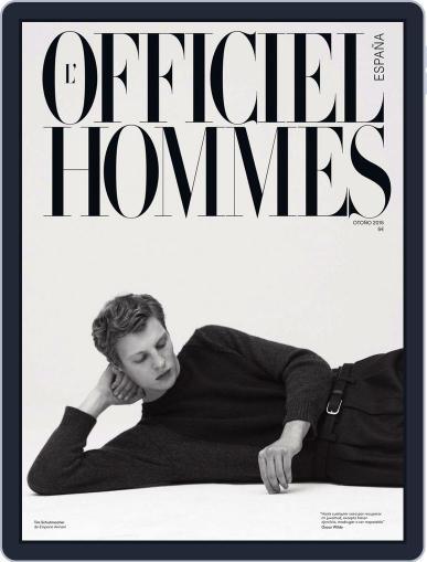 L'Officiel Hommes España (Digital) October 1st, 2015 Issue Cover