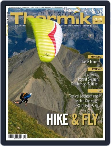 Thermik Spezial Hike & Fly Magazine (Digital) August 25th, 2014 Issue Cover