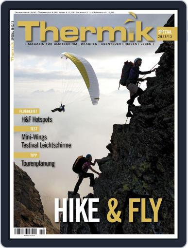 Thermik Spezial Hike & Fly Magazine (Digital) August 16th, 2012 Issue Cover