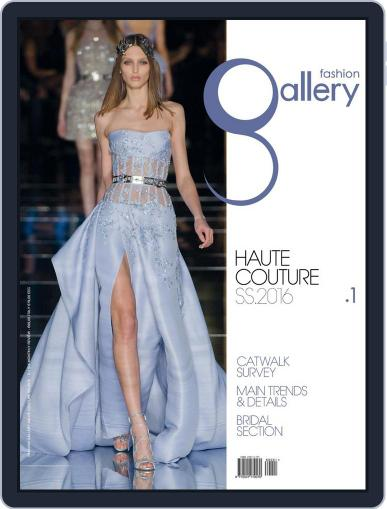 FASHION GALLERY HAUTE COUTURE (Digital) January 1st, 2017 Issue Cover