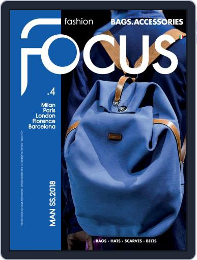 FASHION FOCUS MAN BAGS.ACCESSORIES (Digital) February 2nd, 2018 Issue Cover