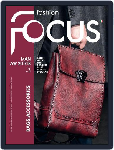 FASHION FOCUS MAN BAGS.ACCESSORIES (Digital) March 23rd, 2017 Issue Cover