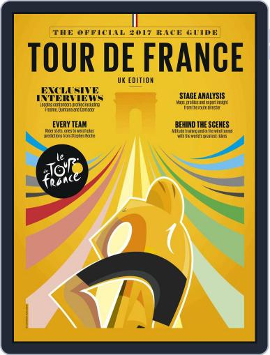 Official Tour de France Guide Magazine (Digital) May 25th, 2017 Issue Cover