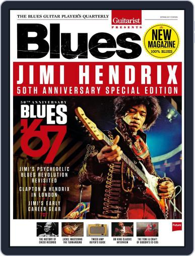 Guitarist Presents: Blues Magazine (Digital) March 1st, 2017 Issue Cover