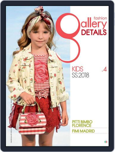 FASHION GALLERY KIDS February 2nd, 2018 Digital Back Issue Cover