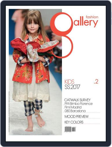 FASHION GALLERY KIDS January 1st, 2017 Digital Back Issue Cover