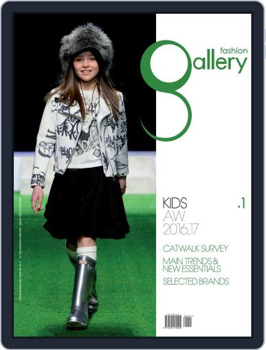 FASHION GALLERY KIDS October 1st, 2016 Digital Back Issue Cover