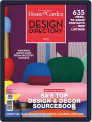 Condé Nast House & Garden Design Directory Magazine (Digital) Subscription October 22nd, 2018 Issue