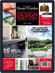 Condé Nast House & Garden Design Directory Magazine (Digital) Subscription August 1st, 2016 Issue