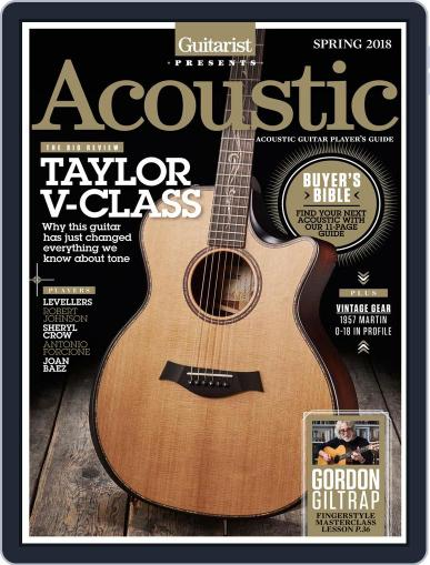 Guitarist Presents Acoustic: Spring Magazine (Digital) March 1st, 2018 Issue Cover