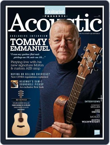 Guitarist Presents Acoustic: Spring Magazine (Digital) April 1st, 2017 Issue Cover
