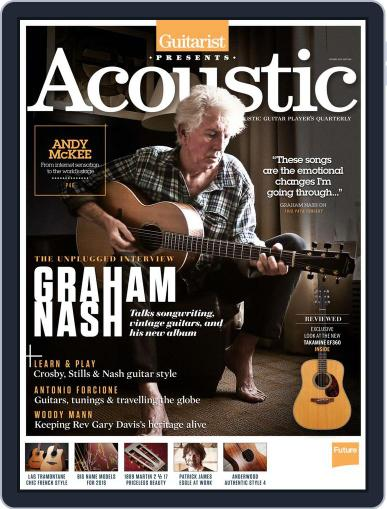 Guitarist Presents Acoustic: Spring Magazine (Digital) March 1st, 2016 Issue Cover
