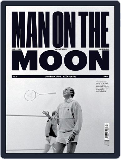 Man on The Moon June 1st, 2018 Digital Back Issue Cover