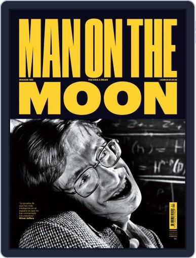 Man on The Moon April 1st, 2018 Digital Back Issue Cover