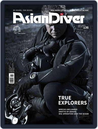 Asian Diver January 19th, 2015 Digital Back Issue Cover