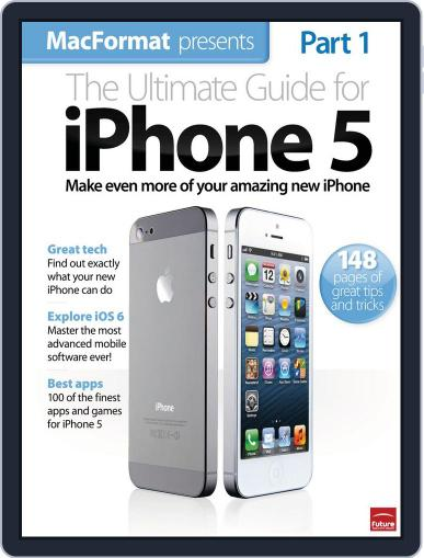 The Ultimate Guide to iPhone 5 Magazine (Digital) November 20th, 2012 Issue Cover