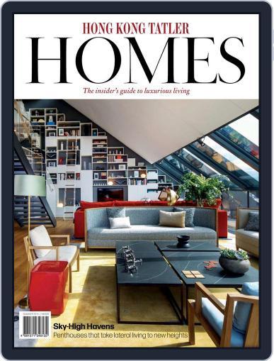 Hong Kong Tatler Homes June 16th, 2015 Digital Back Issue Cover