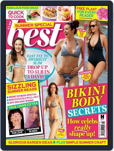 Best Summer Special Magazine (Digital) July 21st, 2015 Issue Cover