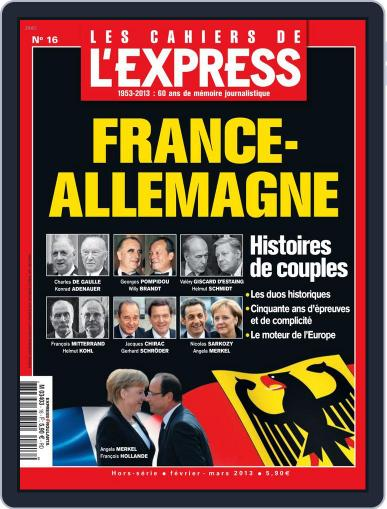 L'Express Grand Format January 24th, 2013 Digital Back Issue Cover