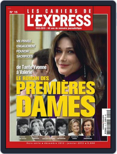 L'Express Grand Format December 2nd, 2012 Digital Back Issue Cover