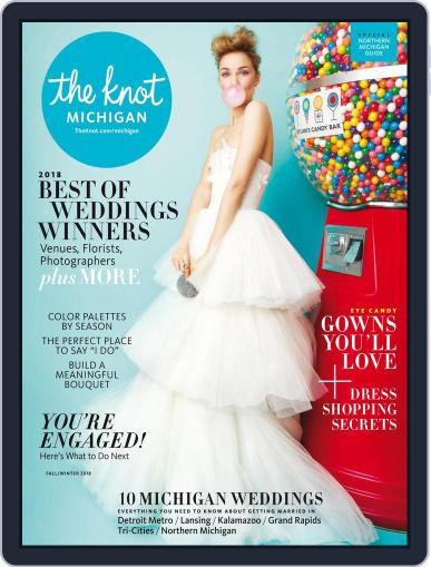 The Knot Michigan Weddings (Digital) April 23rd, 2018 Issue Cover