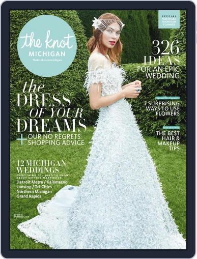 The Knot Michigan Weddings (Digital) January 1st, 2018 Issue Cover