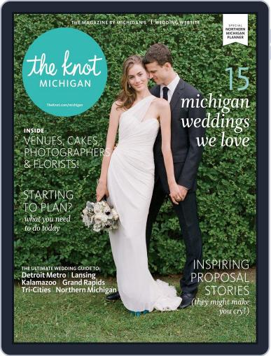 The Knot Michigan Weddings (Digital) November 17th, 2014 Issue Cover
