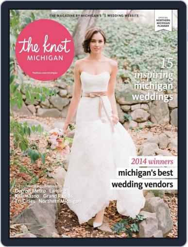 The Knot Michigan Weddings (Digital) May 19th, 2014 Issue Cover
