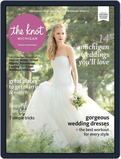 The Knot Michigan Weddings (Digital) November 20th, 2013 Issue Cover