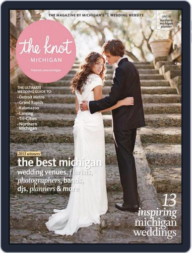 The Knot Michigan Weddings (Digital) August 30th, 2013 Issue Cover